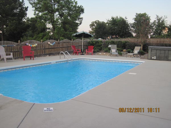 In Ground Salt Water Pool With Water Feature Quotes