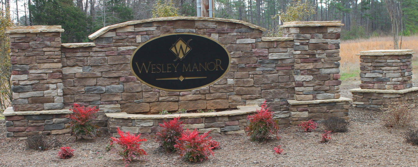 Wesley Manor New Home Subdivision in Wake Forest NC
